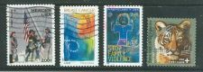 Buy SCOTTS # B-1-B4 ALL THE SEMI POSTAL STAMPS TO DATE COMPLETE USED SET.
