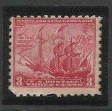 Buy US 1934 Very Nice mint Pilgrim Tercentennial Stamp