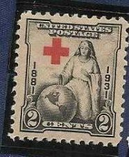 Buy 1931 US 2Cent The Greatest Mother 50th Anniv. Of The Red Cross Sc.702