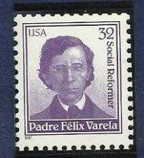 Buy US 32 cent Padre Felix Varella