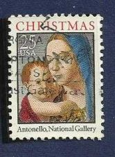 Buy US 25 cent Christmas Antenella National Gallery