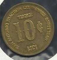 Buy 1983 San Antonio Streetcar TOKEN 10c