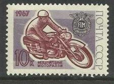 Buy RUSSIA 1967 MOTORCYCLIST MLH SCOTT 3334