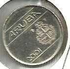 Buy ARUBA NETHERLANDS 5 /c, 2001 Coin