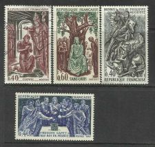 Buy FRANCE. King Philip II. Set of 4 stamps. Scott 1199 - 1201. 1967