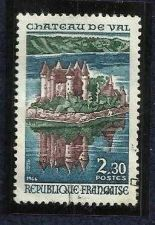 Buy FRANCE complete single MNH 1966 CASTLE OF VAL