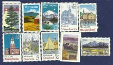 Buy Set of 10 Mint Uncirdulated US Statehood Postage Stamps