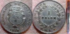 Buy Costa Rica 1 Colon 1948