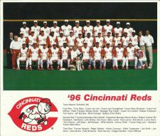 Buy 1996 Cincinnati Reds Team Photograph