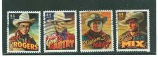 Buy Scotts 4446-4449 Complete used set of Cowboys of the silver screen.