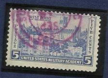 Buy US Military Acadamy 5 cent US postage stamp Westpoint