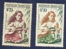 Buy FRENCH POLYNESIA 10f & 25f- Women play Guitar 1