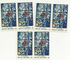 Buy 1967 UN MARC CHAGALL WINDOW UN Stamp sheet