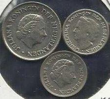 Buy Netherlands 25c 1971, 10c 1948 & 1959