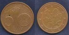 Buy 5 CENT Euro GERMANY coin 2002 D