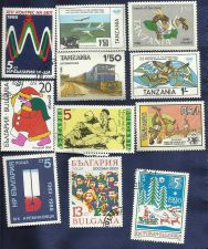 Buy TANZANIA BULGARIA SET of 11 Stamps