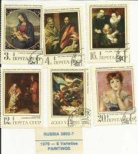 Buy Russian Paintings 6 Varieties