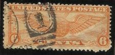 Buy 1934 6c Winged Globe US Air Mail Scott C19 Used