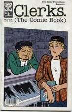 Buy Clerks. The Comic Book in good used well loved condition Jay & Silent Bob ad!!!