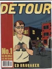 Buy Detour Comic #1 First Edition by Ed Brubaker Very Fine Condition More Rare Daily
