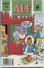 Buy Alf Marvel Comic Book # 1 Holiday Special Winter 1989 Super-Sized