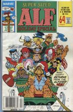 Buy Alf Marvel Comic Book # 2 Holiday Special Winter 1990 Super-Sized