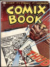 Buy Comix Book #1 It's New! It's Strange! Underground Stan Lee Curtis Publishing