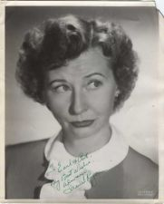 Buy Autographed Promotional Photo Original Irene Ryan dog-eared corner
