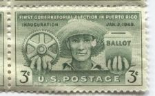 Buy 1949 First Gubernatorial Election in Puerto Rico Inauguration Jan, 2 1949