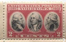 Buy 1931 US Commemorative 2c Stamp Yorktown Catalog #703