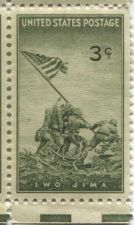 Buy 1945 Commemorative US Postage 3c Iwo Jima Stamps (x4)