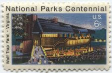 Buy 1972 6c National Park Centennial Wolf Trap Farm Virginia Stamp