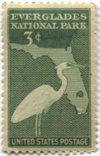 Buy 1947 3c Everglades National Park Commemoratives Postage Stamp