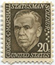Buy 1967 20c George C. Marshall Statesman Postage Stamp