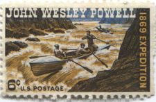 Buy 1969 6v John Wesley Powell Expedition US Postage Stamp Unused
