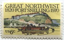 Buy 1970 6c Great Northwest Fort Snelling Unused Postage Stamp