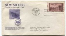 Buy 1946 3c Kearny Expedition Stamp on First Day of Issue New Mexico 100th