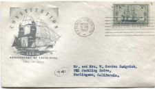 Buy 1947 3c US Frigate Constitution 150th Anniversary Launching Boston First Day