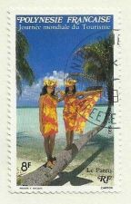 Buy French Polynesia 8f Tourism Journee mondiale du Tourisme