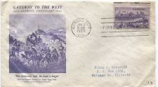 Buy 1950 3c Kansas City Missouri Centennial First Day of Issue Cover Beale