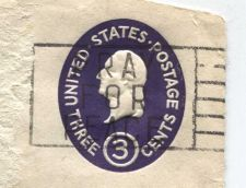"Buy 1950 3c Revenue Stamp Canceled ""Pray for Peace"" post-1956"