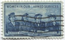 Buy 1952 3c Women in our Armed Services Cancelled Good Used Condition