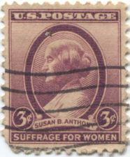 Buy 1936 3c Suffrage for Women Susan B. Anthony Cancelled Used Stamp Good