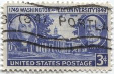 Buy 1949 3c Washington and Lee University 200th Anniversary Postage Stamp Cancelled