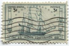 Buy 1947 3c US Frigate Constitution 150th Anniversary Launching Boston Cancelled