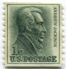 Buy 1963 1c Andrew Jackson Coil Stamp Excellent Quality Mint Condition
