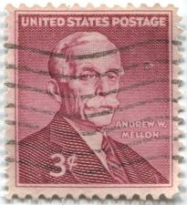 Buy 1955 3c Andrew W. Mellon Stamp Good Used Cancelled Condition