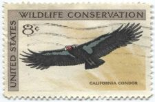 Buy 1971 8c Wildlife Conservation Series Condor Used Stamp Lightly Cancelled Stamp