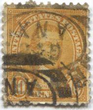 Buy 1923 10c President Monroe Orange Cancelled Good old Rare Stamp