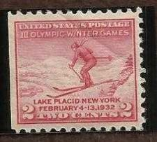 Buy US 716 2c 1932 LAKE PLACID OLYMPIC MINT SINGLE